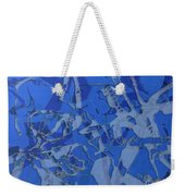 Negative Photo Silkscreen Weekender Tote Bag