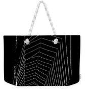 Negative Space Weekender Tote Bag