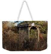 Neglected Old Gazebo Weekender Tote Bag