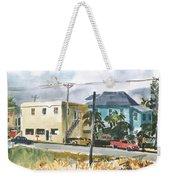 Neighborhood Corner Weekender Tote Bag
