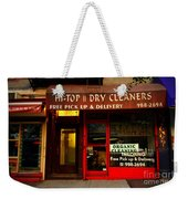 Neighborhood Shop - Dry Cleaners Weekender Tote Bag