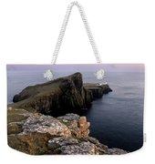 Neist Point Lighthouse, Isle Of Skye, Scotland Weekender Tote Bag