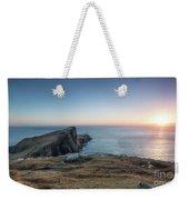 Neist Point Sunset Weekender Tote Bag