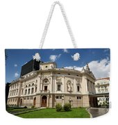 Neo Renaissance Architecture Of The Slovenian National Opera And Weekender Tote Bag