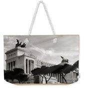 Neoclassical Architecture In Rome Weekender Tote Bag by Stefano Senise