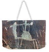 Neolithic Petroglyph Weekender Tote Bag