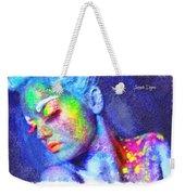 Neon Beauty Weekender Tote Bag