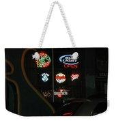 Neon Beer Weekender Tote Bag