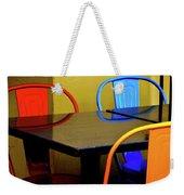 Neon Chairs 1 Weekender Tote Bag