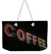Neon Coffee Weekender Tote Bag