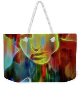 Neon Color Bob Dylan Weekender Tote Bag