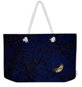 Neon Crescent Weekender Tote Bag by Doug Gibbons