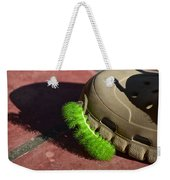 Neon Geen Caterpillar Loves Crocs Weekender Tote Bag