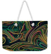 Neon Night Life Weekender Tote Bag