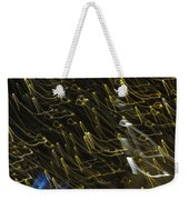 Neon Percussion Weekender Tote Bag
