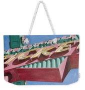 Neon Sign Cherry Cricket Weekender Tote Bag