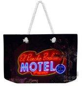 Neon Sign Weekender Tote Bag