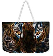 Neon Tigress Weekender Tote Bag