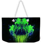 Neon Turtle Weekender Tote Bag
