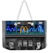 Neon Twin Towers Weekender Tote Bag