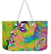 Neon Vibes Painting Weekender Tote Bag