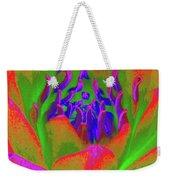 Neon Water Lily 02 - Photopower 3371 Weekender Tote Bag
