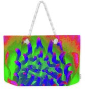 Neon Water Lily 03 - Photopower 3372 Weekender Tote Bag