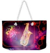 Neons Saxaphone Weekender Tote Bag