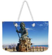 Neptune Virgina Beach  Weekender Tote Bag