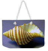 Neptune Whelk Seashell Weekender Tote Bag