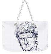 Nero Roman Emperor Series Ancient Rome Weekender Tote Bag