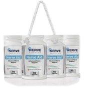 Nerve Aid Essentials Review - Proven Ingredients Relieve .. Weekender Tote Bag