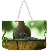 Nesting Doves, Hanging Basket, Balcony Garden, Hunter Hill, May  Weekender Tote Bag