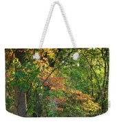 Nestled In The Woods Weekender Tote Bag