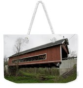 Netcher Road Covered Bridge 2 Weekender Tote Bag