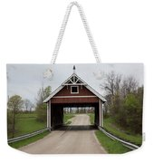 Netcher Road Covered Bridge Weekender Tote Bag