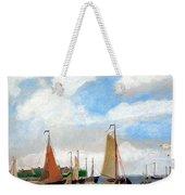 Netherland's Harbour Weekender Tote Bag