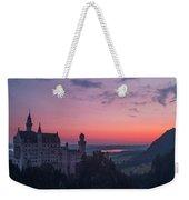 Neuschwanstein Castle Landscape Weekender Tote Bag