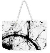 Neutrino, Bubble Chamber Event Weekender Tote Bag
