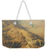 Nevada Mountain Terrain Aerial Weekender Tote Bag