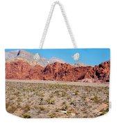 Nevada's Red Rocks Weekender Tote Bag