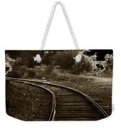 Never A Straight Path Weekender Tote Bag