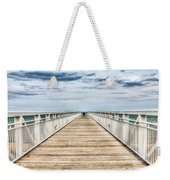 Never Ending Beach Pier Weekender Tote Bag