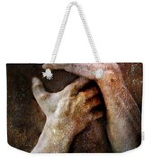 Never Let Go Weekender Tote Bag
