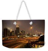 Never Sleeping Atlanta In Motion Midtown Light Trails Art Weekender Tote Bag