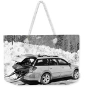 Never Without A Ride Weekender Tote Bag