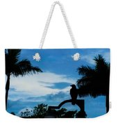 Nevermore In The Tropics Weekender Tote Bag