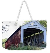 Nevins Covered Bridge Indiana Weekender Tote Bag