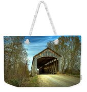 Nevins Covered Bridge Weekender Tote Bag