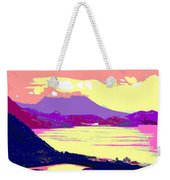 Nevis From The Penninsula Weekender Tote Bag